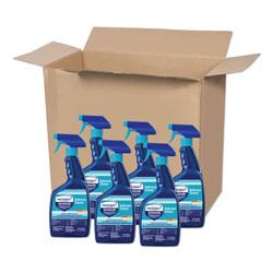 Microban 24 Hour Disinfectant Bathroom Cleaner, 32 oz. Spray Bottle, 6/Case