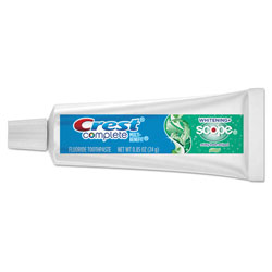 Crest® Whitening Plus Scope Toothpaste, Trial Size, 0.85 oz. Tubes, Unboxed, 72/Case