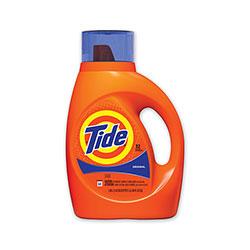 Tide Liquid Tide Laundry Detergent, 32 Loads, 46 oz Bottle, 6/Carton