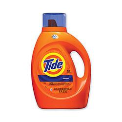 Tide HE Laundry Detergent, Original Scent, Liquid, 64 Loads, 92 oz Bottle