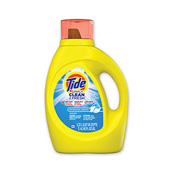 Tide Simply Clean and Fresh Laundry Detergent, Refreshing Breeze, 64 Loads, 92 oz Bottle