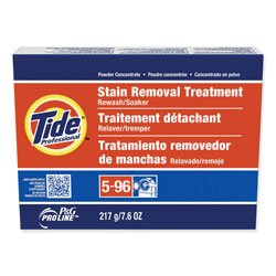 Tide Professional Stain Removal Powder Concentrate, 7.6 oz. Packets, 14/Case