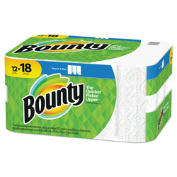 Bounty Select A Size Paper Towels, White, 12 Rolls, 83 Sheets Per Roll, 996 Sheets Total
