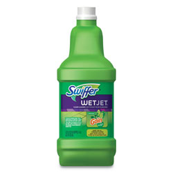 Swiffer Wet Jet Multi-Purpose System Refill, Gain Scent, 1.25 Liter Bottle, 4/Case