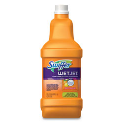 Swiffer Wet Jet Multi-Purpose System Refill, Sweet Citrus & Zest Scent, 1.25 Liter Bottle, 4/Case