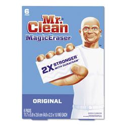 Mr. Clean Magic Eraser, Original Scent, 6 Per Box, 6/Case, 36 Total
