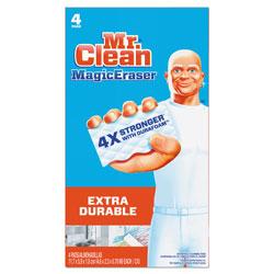 Mr. Clean Magic Eraser, Extra Durable, 4 Per Box, 8/Case, 32 Total