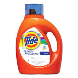Tide Liquid Laundry Detergent Plus Bleach Alternative, 69 oz. Bottle (44 loads), 4/Case, 176 Loads Total