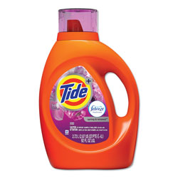 Tide Liquid Laundry Detergent With Febreze, Spring & Renewal Scent, 92 oz. Bottle (59 Loads)