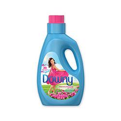 Downy Liquid Fabric Softener, April Fresh, 39 Loads, 64 oz Bottle, 4/Carton
