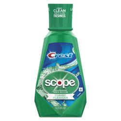 Crest® Scope Mouthwash, Mint Flavor, 1 Liter Bottle