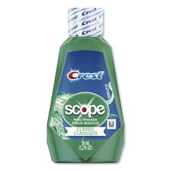 Crest® Scope Mouthwash, Mint Flavor, Trial Size, 36 ml Bottles, 180/Case