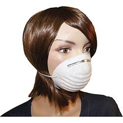 ProGuard Dust Mask, Disposable, Non-Toxic, 50/BX, White