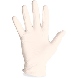 ProGuard Latex Gloves, Powdered, Disposable, L, 1000/CT, Natural