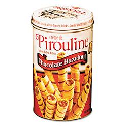 Five Star Distributors Chocolate Hazelnut Pirouline Rolled Wafers, 14oz