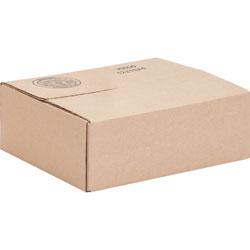International Paper Shipping Carton, 200 lb, 12 inWx10 inLx4 inH, 25/PK, Kraft