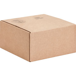 International Paper Shipping Carton, 200 lb, 12 inWx12 inLx6 inH, 25/PK, Kraft