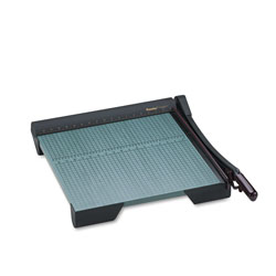 Martin Yale The Original Green Paper Trimmer, 20 Sheets, Wood Base, 19 1/8 in x 21 1/8 in