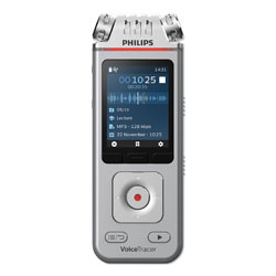 Philips Voice Tracer 4110 Digital Recorder, 8 GB, Silver