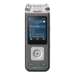 Philips Voice Tracer 6110 Digital Recorder, 8 GB, Black