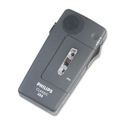 Philips Pocket Memo 388 Slide Switch Mini Cassette Dictation Recorder