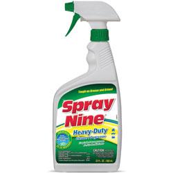 Spray Nine® Multipurpose Cleaner/Disinfectant Spray, 22oz., 12/CT, CL