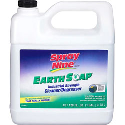 Spray Nine® Earth Soap Concentrated Cleaner/Degreaser, 1gal Bottle