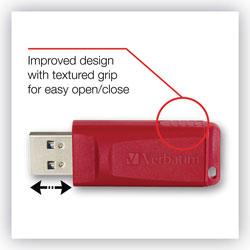 Verbatim Store 'n' Go USB Flash Drive, 16 GB, Red