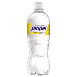 Propel Flavored Water, Lemon, Bottle, 500mL, 24/Carton