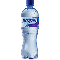 Propel Flavored Water, Grape, Bottle, 500mL, 24/Carton