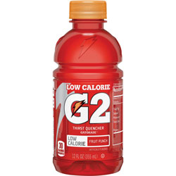 Gatorade G2 Fruit Punch Sports Drink, 12oz., 24/CT, RD