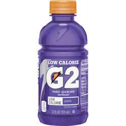 Gatorade G2 Grape Sports Drink, 12oz., 24/CT, Purple