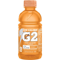 Gatorade G2 Orange Sports Drink, 12oz., 24/CT, Orange