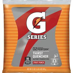 Gatorade Sports Drink Powder, Fruit Punch, Yields 2-1/2 Gallons, Each