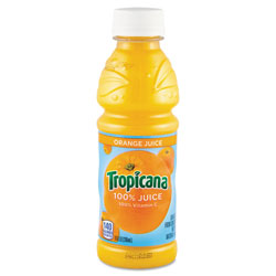Tropicana® 100% Juice, Orange, 10oz Bottle, 24/Carton