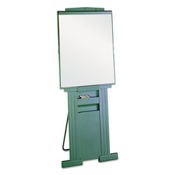 Quartet Duramax Portable Presentation Easel, Adjusts 39 in to 72 in High, Plastic, Gray