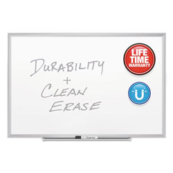 Quartet® Classic Series Porcelain Magnetic Board, 72 x 48, White, Silver Aluminum Frame