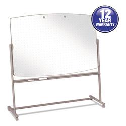 Quartet® Total Erase Reversible Mobile Easel, 72 x 48, White Surface, Neutral Frame