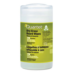 Quartet® Board Wipes Dry Erase Board Cleaner, Low Odor, Nontoxic