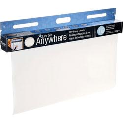 Quartet® Dry-Erase Sheets, Tear Off Sheets, 40ft RL, 15 SHT/RL, White