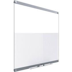 Quartet Dry-Erase Board, Glass, 18 inWx24 inL, White