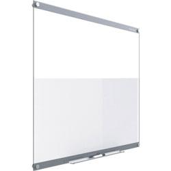 Quartet Dry-Erase Board, Glass, 36 inWx24 inL, White