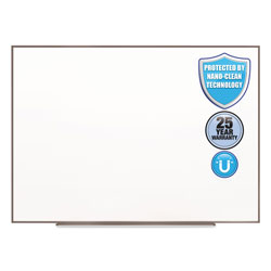 Quartet® Fusion Nano-Clean Magnetic Whiteboard, 48 x 36, Silver Frame