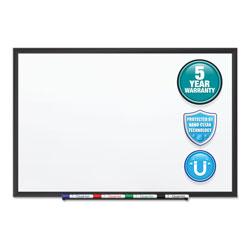 Quartet® Classic Series Nano-Clean Dry Erase Board, 36 x 24, Black Aluminum Frame