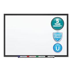 Quartet® Classic Series Nano-Clean Dry Erase Board, 60 x 36, Black Aluminum Frame