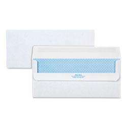 Quality Park Redi-Seal Envelope, #10, Commercial Flap, Redi-Seal Closure, 4.13 x 9.5, White, 500/Box