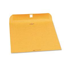 Quality Park Clasp Envelope, #90, Cheese Blade Flap, Clasp/Gummed Closure, 9 x 12, Brown Kraft, 250/Carton