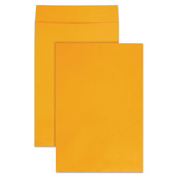 Quality Park Jumbo Size Kraft Envelope, Fold Flap Closure, 12.5 x 18.5, Brown Kraft, 25/Pack