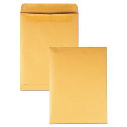 Quality Park Redi-Seal Catalog Envelope, #10 1/2, Cheese Blade Flap, Redi-Seal Closure, 9 x 12, Brown Kraft, 250/Box