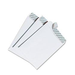 Quality Park Redi-Strip Catalog Envelope, #1, Cheese Blade Flap, Redi-Strip Closure, 6 x 9, White, 100/Box